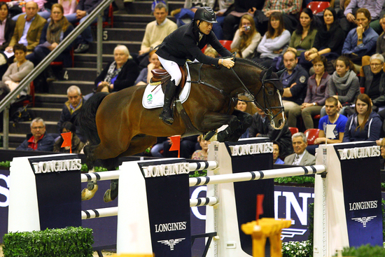 Longines Show Jumping Event: Rolf-Göran Bengtsson on Casall ASK wins the Longines Grand Prix at Longines CSI Basel 1