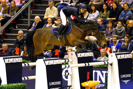 Longines Show Jumping Event: Rolf-Göran Bengtsson on Casall ASK wins the Longines Grand Prix at Longines CSI Basel 4