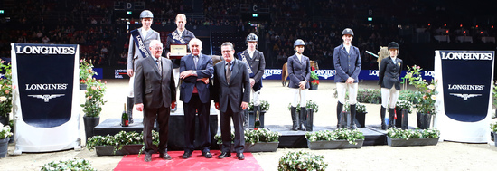 Longines Show Jumping Event: Rolf-Göran Bengtsson on Casall ASK wins the Longines Grand Prix at Longines CSI Basel 5