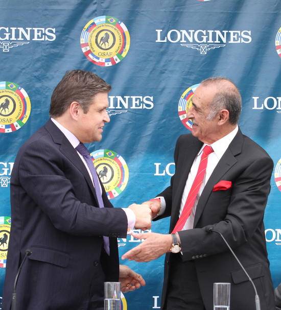 Longines Flat Racing Event: Longines becomes the Official Partner of OSAF and of the Longines Gran Premio Latinoamericano 2