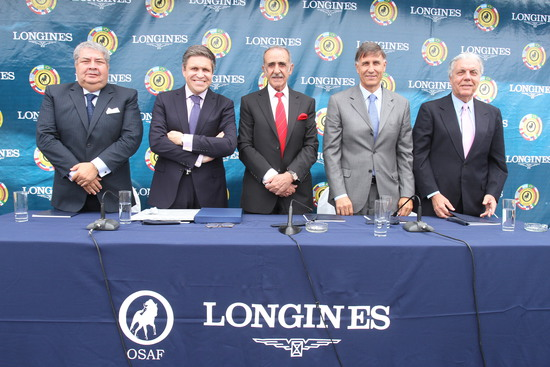 Longines Flat Racing Event: Longines becomes the Official Partner of OSAF and of the Longines Gran Premio Latinoamericano 3