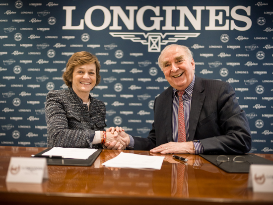Longines Flat Racing Event: Longines signs a new partnership agreement with the International Federation of Gentlemen and Lady Riders 2