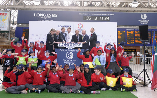 Longines Commonwealth Games Event: Longines Countdown clock unveiled as Scots gear up on Commonwealth Day for a great Games 2
