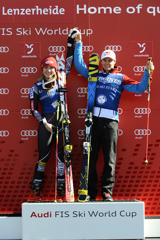 Longines Alpine Skiing Event: Mikaela Shiffrin and Alexis Pinturault are the Longines Rising Ski Stars 2013/2014 1