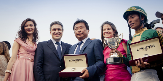 Longines Flat Racing Event: Juan Enrique on Lideris wins the Longines Gran Premio Latinoamericano 3