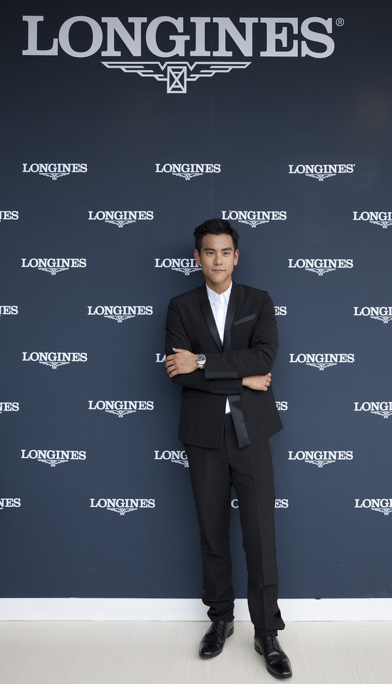 Longines Show Jumping Event: Longines Ambassador of Elegance Eddie Peng at the Longines Global Champions Tour of Shanghai 2
