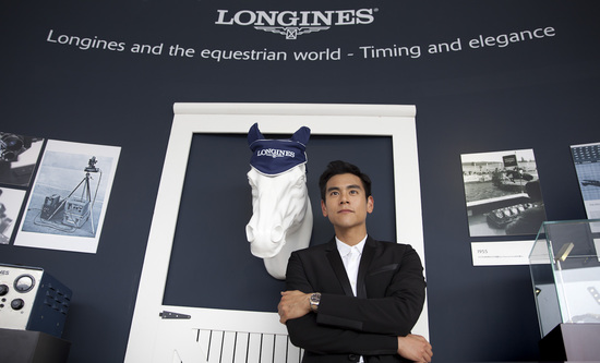 Longines Show Jumping Event: Longines Ambassador of Elegance Eddie Peng at the Longines Global Champions Tour of Shanghai 5