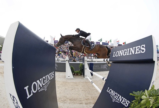 Longines Show Jumping Event: Longines Ambassador of Elegance Eddie Peng at the Longines Global Champions Tour of Shanghai 6