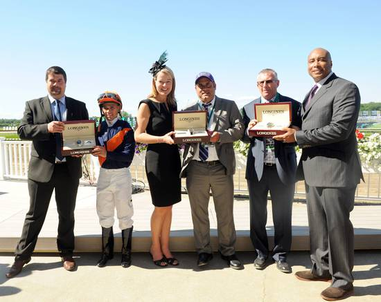 Longines Flat Racing Event: Longines Times Tonalist's surprising Victory at Belmont Stakes 4