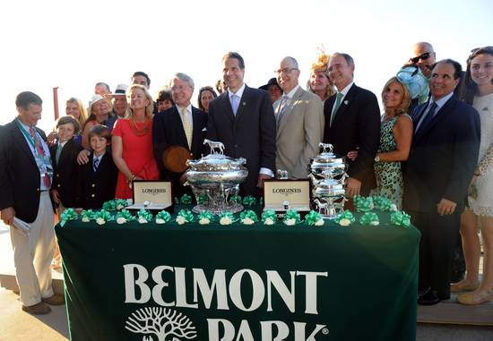 Longines Flat Racing Event: Longines Times Tonalist's surprising Victory at Belmont Stakes 5