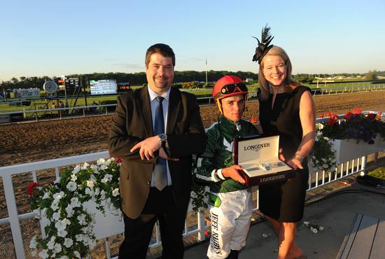 Longines Flat Racing Event: Longines Times Tonalist's surprising Victory at Belmont Stakes 6