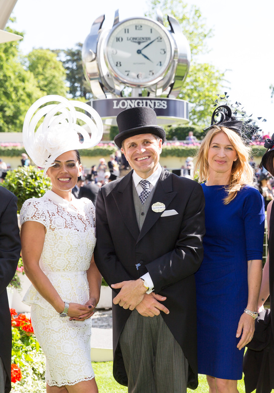 Longines Flat Racing Event: Tennis Legend Stefanie Graf joins Longines at Royal Ascot for an English Day at the Races 6