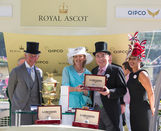 Longines Flat Racing Event: Tennis Legend Stefanie Graf joins Longines at Royal Ascot for an English Day at the Races 7
