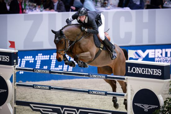 Longines Show Jumping Event: Sergio Alvarez Moya (ESP) wins the Swiss leg of the Longines FEI World Cup™ in Zurich 3