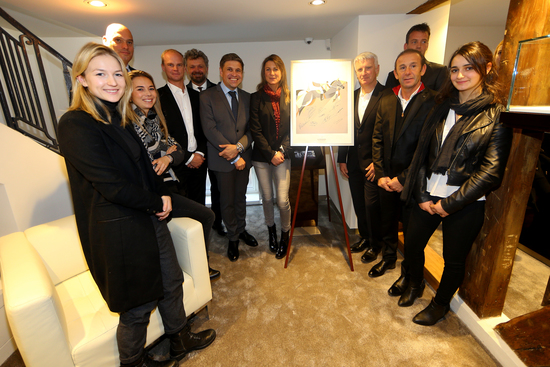 Longines Corporate Event: Longines presented its latest equestrian watch in its new Parisian boutique in the presence of show jumping champions 5