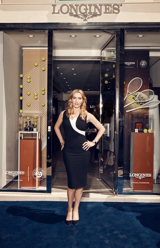 Longines Corporate Event: Kate Winslet launches the exclusive Flagship Heritage by Kate Winslet timepiece to be auctioned online 10