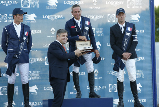 Longines Show Jumping Event: The Longines Paris Eiffel Jumping returned to its iconic location in the very heart of the French capital 4