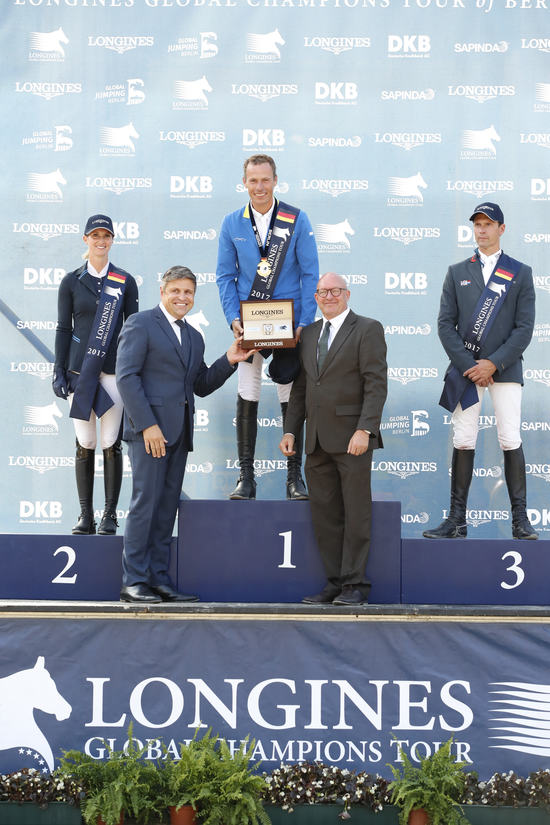 Longines Flat Racing Event: Berlin joined the Longines Global Champions Tour 4