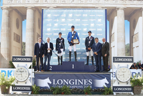 Longines Flat Racing Event: Berlin joined the Longines Global Champions Tour 2