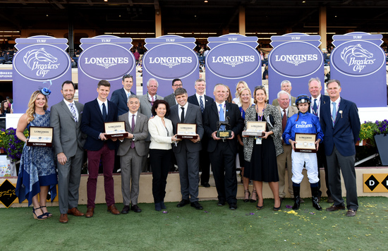 Longines Flat Racing Event: Swiss Watch Brand Longines Times 2017 Breeders' Cup World Championships at Del Mar 8
