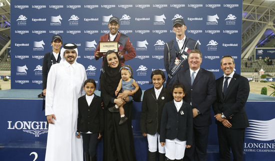 Longines Show Jumping Event: Qatari victory at the 2017 Longines Global Champions Tour in Doha 1