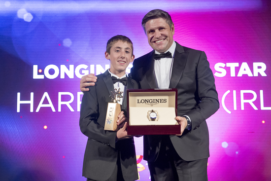 Longines Show Jumping Event: Harry Allen appointed Longines Rising Star 2017  2