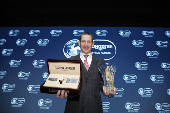 Longines Flat Racing Event: Australian Hugh Bowman receives the 2017 Longines World's Best Jockey Award in Hong Kong 6