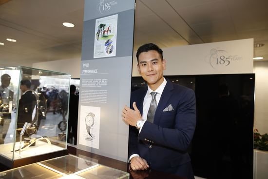Longines Flat Racing Event: Longines welcomes its Ambassador of Elegance Eddie Peng at the 2017 Longines Hong Kong International Races 13