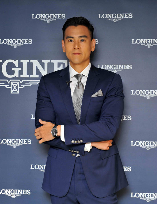 Longines Flat Racing Event: Longines welcomes its Ambassador of Elegance Eddie Peng at the 2017 Longines Hong Kong International Races 11