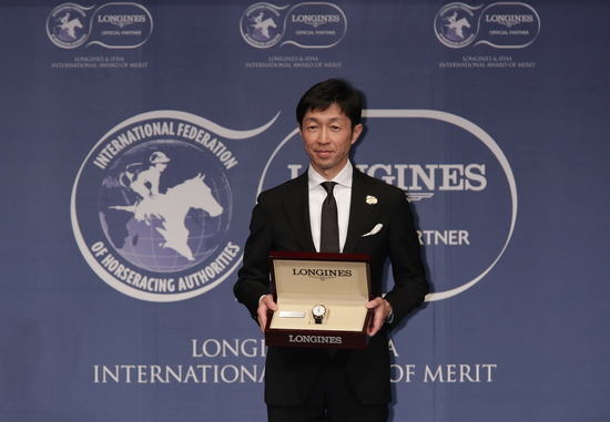 Longines Flat Racing Event: Yutaka Take Receives the 2017 Longines and IFHA International Award of Merit 7