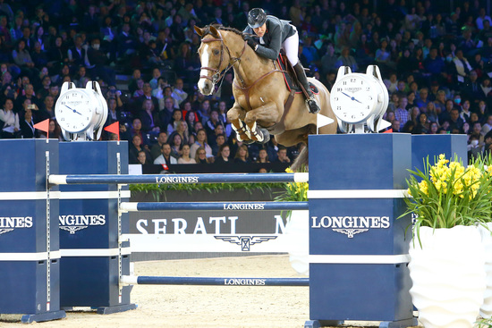 Longines Show Jumping Event: The Longines Masters of Hong Kong: Patrice Delaveau on Aquila HDC takes top class Longines Grand Prix win 2