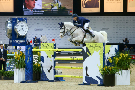 Longines Show Jumping Event: The Longines Masters of Hong Kong: Patrice Delaveau on Aquila HDC takes top class Longines Grand Prix win 4