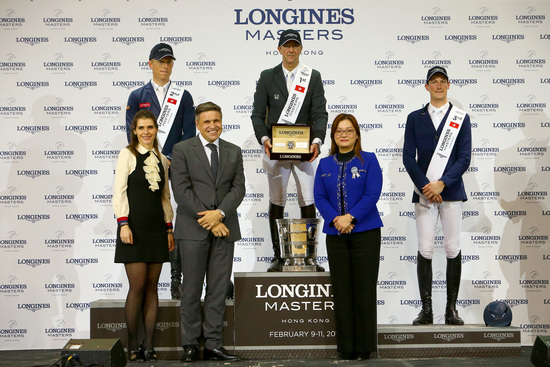Longines Show Jumping Event: The Longines Masters of Hong Kong: Patrice Delaveau on Aquila HDC takes top class Longines Grand Prix win 6