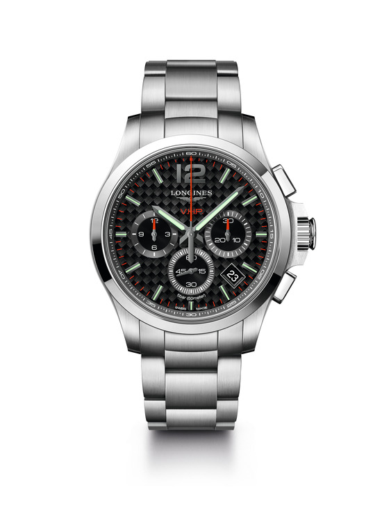 Longines Conquest V.H.P. Chronograph Watch 4