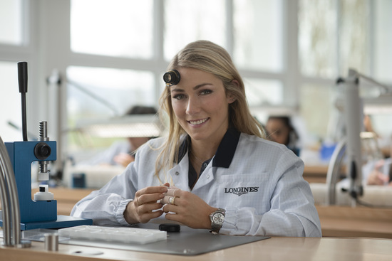 Longines Corporate Event: Longines receives the visit of ski champion and Ambassador of Elegance Mikaela Shiffrin at its headquarters in Saint-Imier 1