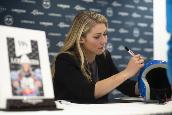 Longines Corporate Event: Longines receives the visit of ski champion and Ambassador of Elegance Mikaela Shiffrin at its headquarters in Saint-Imier 11