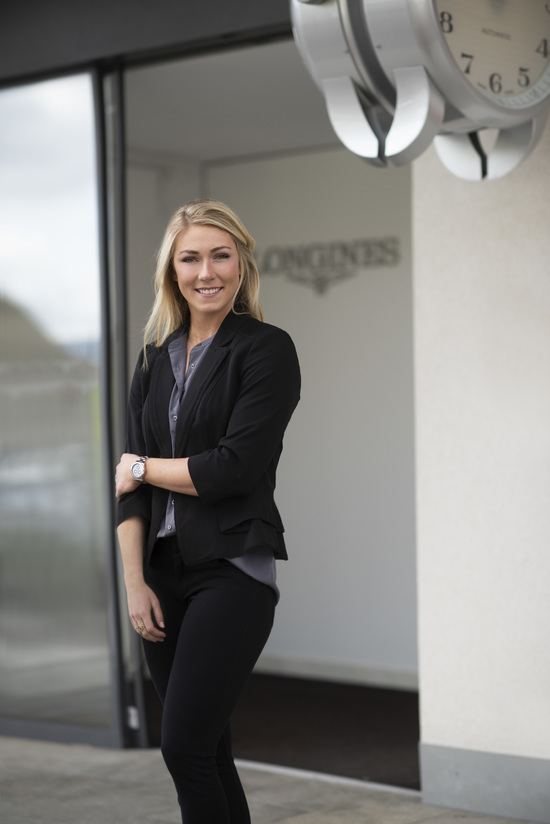 Longines Corporate Event: Longines receives the visit of ski champion and Ambassador of Elegance Mikaela Shiffrin at its headquarters in Saint-Imier 2