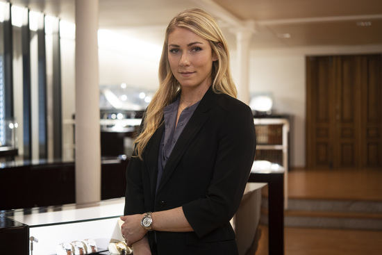 Longines Corporate Event: Longines receives the visit of ski champion and Ambassador of Elegance Mikaela Shiffrin at its headquarters in Saint-Imier 7