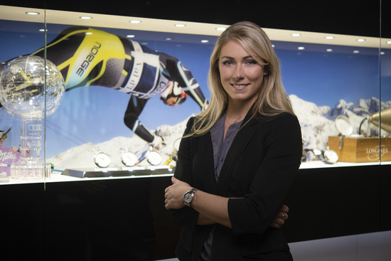 Longines Corporate Event: Longines receives the visit of ski champion and Ambassador of Elegance Mikaela Shiffrin at its headquarters in Saint-Imier 12