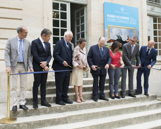 """Longines Corporate Event: Longines inaugurates the exhibition """"Painting the races"""" as its main patron 1"""