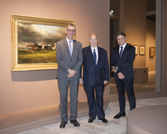 "Longines Corporate Event: Longines inaugurates the exhibition ""Painting the races"" as its main patron 3"