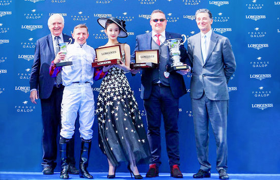 Longines Flat Racing Event: Laurens makes an astounding win at the 2018 Prix de Diane Longines 7