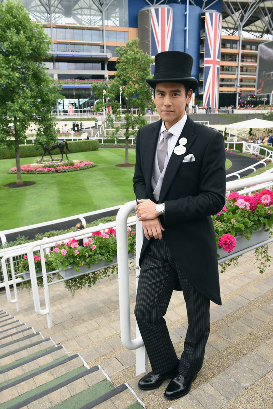 Longines Flat Racing Event: An elegant race day at Royal Ascot with  Longines Ambassador of Elegance Eddie Peng 8