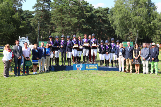 Longines Show Jumping Event: The next generation of athletes showcased in the Longines FEI European Championships CH / J / YR 3