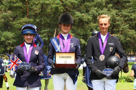Longines Show Jumping Event: The next generation of athletes showcased in the Longines FEI European Championships CH / J / YR 4