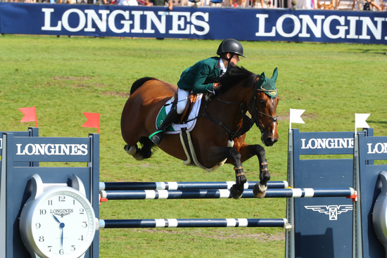 Longines Show Jumping Event: The next generation of athletes showcased in the Longines FEI European Championships CH / J / YR 8