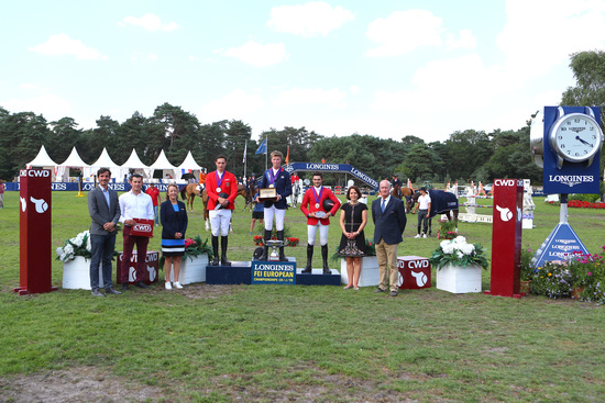 Longines Show Jumping Event: The next generation of athletes showcased in the Longines FEI European Championships CH / J / YR 14