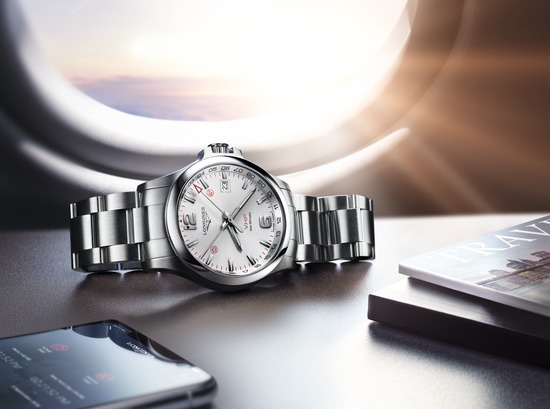 Longines Corporate Event: Longines presents the new Conquest V.H.P. GMT Flash Setting:  the watch made for frequent travelers 7