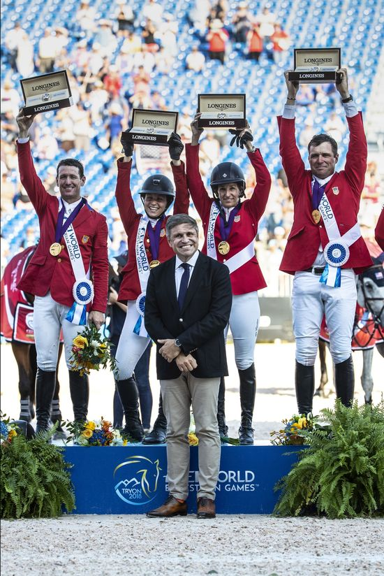 Longines Show Jumping Event: The FEI World Equestrian Games ended beautifully with Germany topping the medal table   19