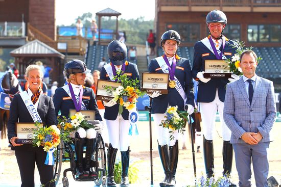 Longines Show Jumping Event: The FEI World Equestrian Games ended beautifully with Germany topping the medal table   18